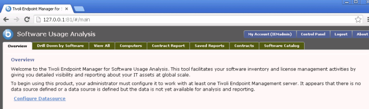 10 - Configure Datasource