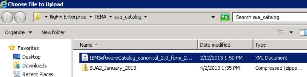 34 - SUA 2 catalog update XML
