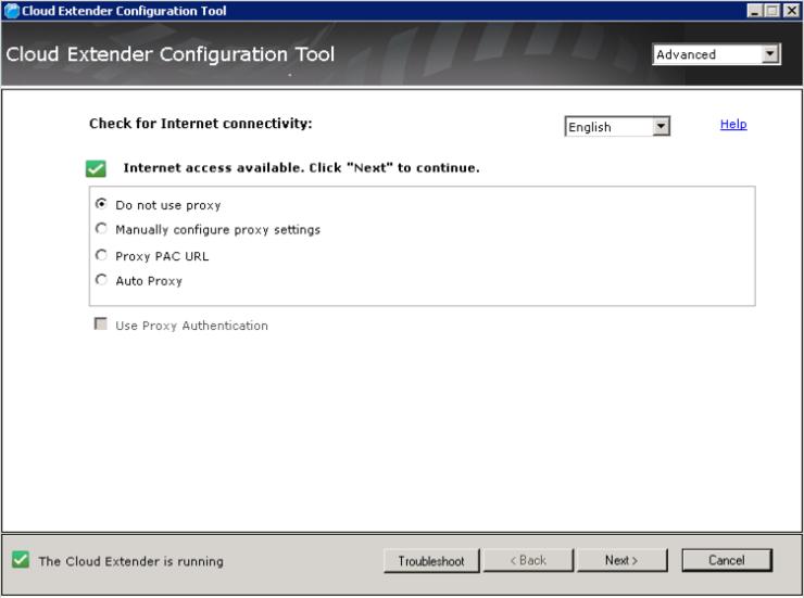 1 - Cloud Extender