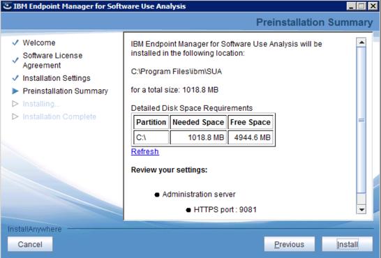 final SUA installer review
