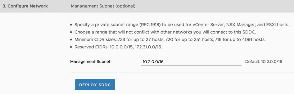 4 - SDDC Network