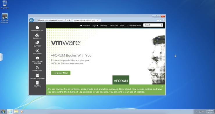 vm desktop