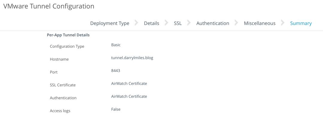 Android-VMware-Tunnel-Summary